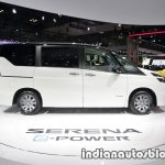 Nissan Serena e-Power at 2017 Tokyo Motor Show side view
