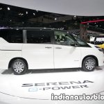 Nissan Serena e-Power at 2017 Tokyo Motor Show side