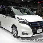 Nissan Serena e-Power at 2017 Tokyo Motor Show three quarters