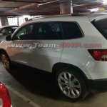 Skoda Karoq spotted in India side angle view