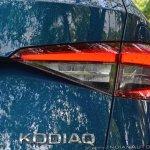 Skoda Kodiaq test drive review Kodiaq badge