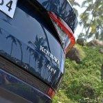 Skoda Kodiaq test drive review badge