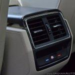 Skoda Kodiaq test drive review rear AC vent