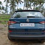 Skoda Kodiaq test drive review rear