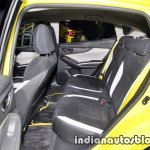 Subaru Impreza Future Sport concept 2017 Tokyo Motor Show rear seats