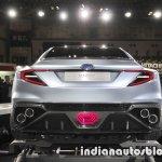 Subaru Viziv Performance Concept rear at 2017 Tokyo Motor Show