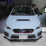 Subaru WRX STI S208 Limited Edition front at the Tokyo Motor Show