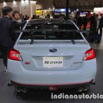 Subaru WRX STI S208 Limited Edition rear at the Tokyo Motor Show