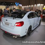 Subaru WRX STI S208 Limited Edition rear three quarters at the Tokyo Motor Show