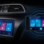 Suzuki Alivio Pro (Maruti Ciaz facelift) touchscreen