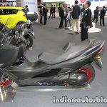 Suzuki Burgman 400 seat & wheel at the 2017 Tokyo Motor Show