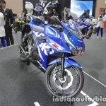 Suzuki GSX-R125 front three quarters at 2017 Tokyo Motor Show
