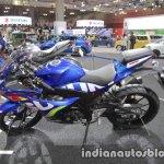 Suzuki GSX-R125 profile at 2017 Tokyo Motor Show
