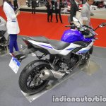 Suzuki GSX250R rear three quarters right side at 2017 Tokyo Motor Show