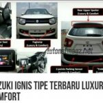 Suzuki Ignis Luxury and Suzuki Ignis Comfort features