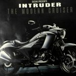 Suzuki Intruder 150 leaked brochure front right quarter
