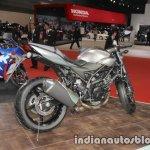 Suzuki SV650X exhaust wheel tank seat at the Tokyo Motor Show