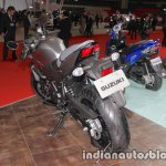 Suzuki SV650X rear three quarter at the Tokyo Motor Show