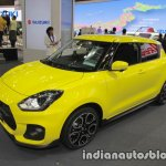 Suzuki Swift Sport front three quarters view at 2017 Tokyo Motor Show