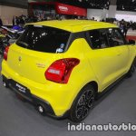 Suzuki Swift Sport rear three quarters at 2017 Tokyo Motor Show