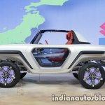 Suzuki e-SURVIVOR profile at the 2017 Tokyo Motor Show