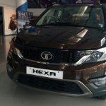 Tata Hexa new colour front