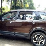 Tata Hexa new Urban Bronze colour side