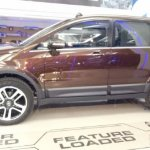 Tata Hexa new Coffee Brown colour