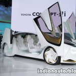Toyota Concept-i front three quarters at 2017 Tokyo Motor Show