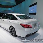 Toyota Crown concept at 2017 Tokyo Motor Show left rear three quarters