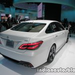 Toyota Crown concept at 2017 Tokyo Motor Show right rear three quarters