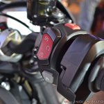 Triumph Street Triple RS switchgear right