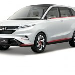 Updated Daihatsu DN Multisix concept front three quarters left side