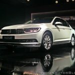 VW Passat left front three quarters