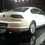 VW Passat left right three quarters