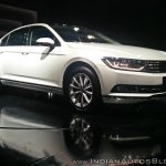 VW Passat right front three quarters
