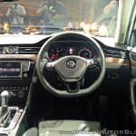 VW Passat steering wheel
