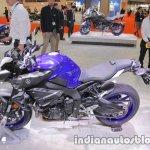 Yamaha MT-10 left side at 2017 Tokyo Motor Show