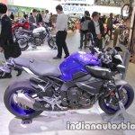 Yamaha MT-10 profile at 2017 Tokyo Motor Show