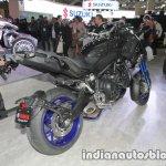 Yamaha Niken rear three quarters at 2017 Tokyo Motor Show