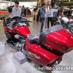 Yamaha Star Venture rear three quarters left at the Tokyo Motor Show