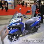 Yamaha Tricity 155 front three quarters right side at 2017 Tokyo Motor Show