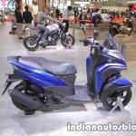 Yamaha Tricity 155 profile at 2017 Tokyo Motor Show