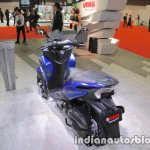 Yamaha Tricity 155 rear three quarters left side at 2017 Tokyo Motor Show