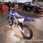 Yamaha YZ450F rear three quarters left sideat 2017 Tokyo Motor Show