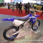 Yamaha YZ450F rear three quarters right sideat 2017 Tokyo Motor Show