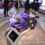 Yamaha YZF-R6 front three quarters left side at 2017 Tokyo Motor Show