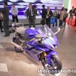 Yamaha YZF-R6 front three quarters right side at 2017 Tokyo Motor Show