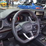 2017 Audi SQ5 dashboard at 2017 Dubai Motor Show