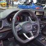 2017 Audi SQ5 dashboard at 2017 Dubai Motor Show